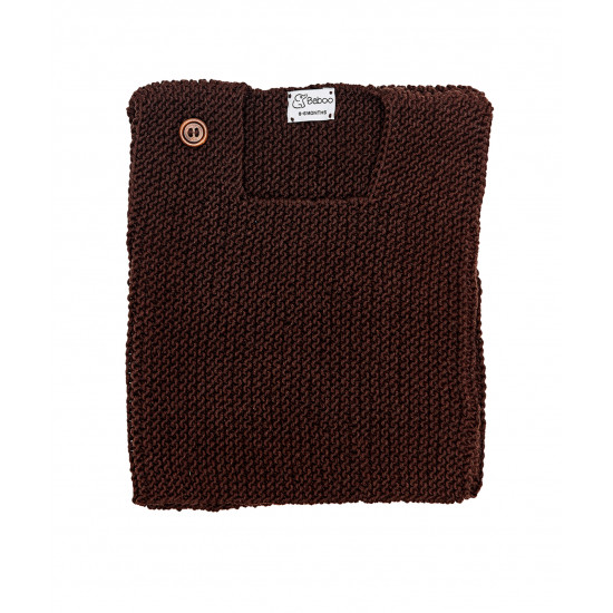 BOXY DARK BROWN SWEATER
