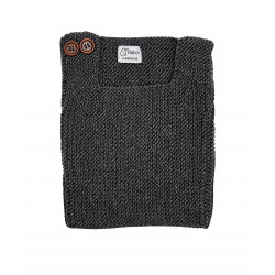 BOXY DARK GREY SWEATER
