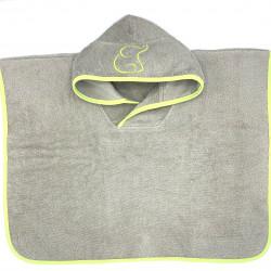 GREEN PONCHO TOWEL