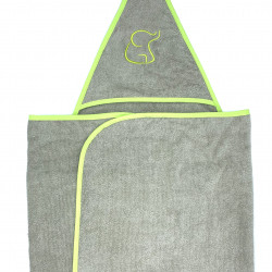 GREEN SWADDLE TOWEL