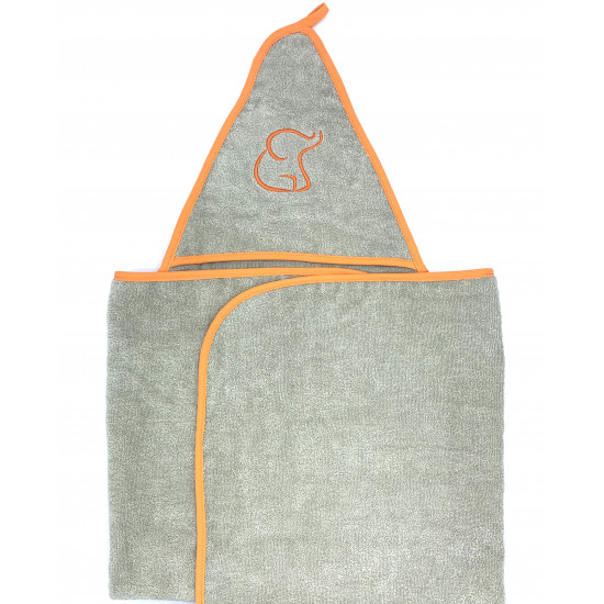 ORANGE SWADDLE TOWEL
