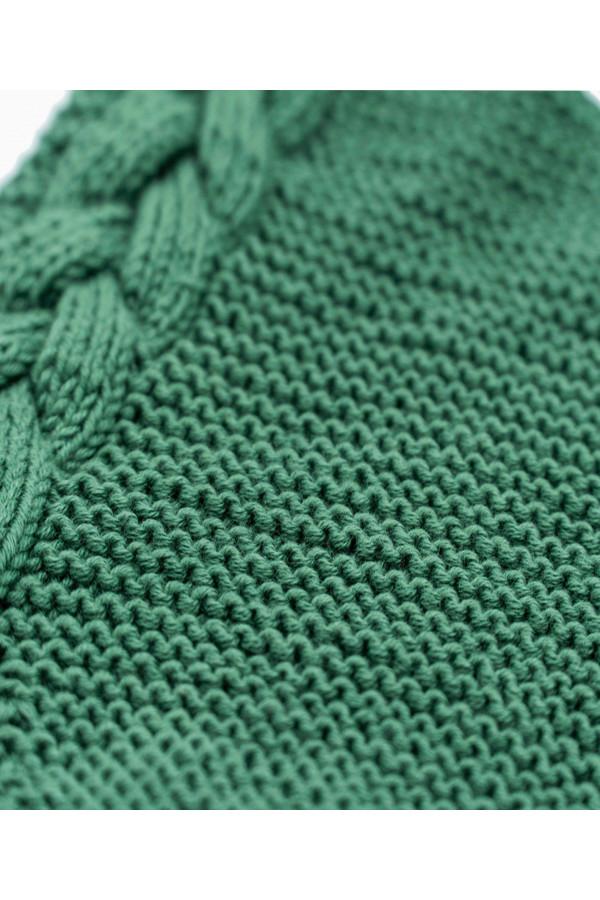 BRAIDY DARK GREEN ROMPER