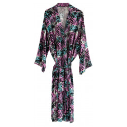 ZEBRA LOVE ROBE