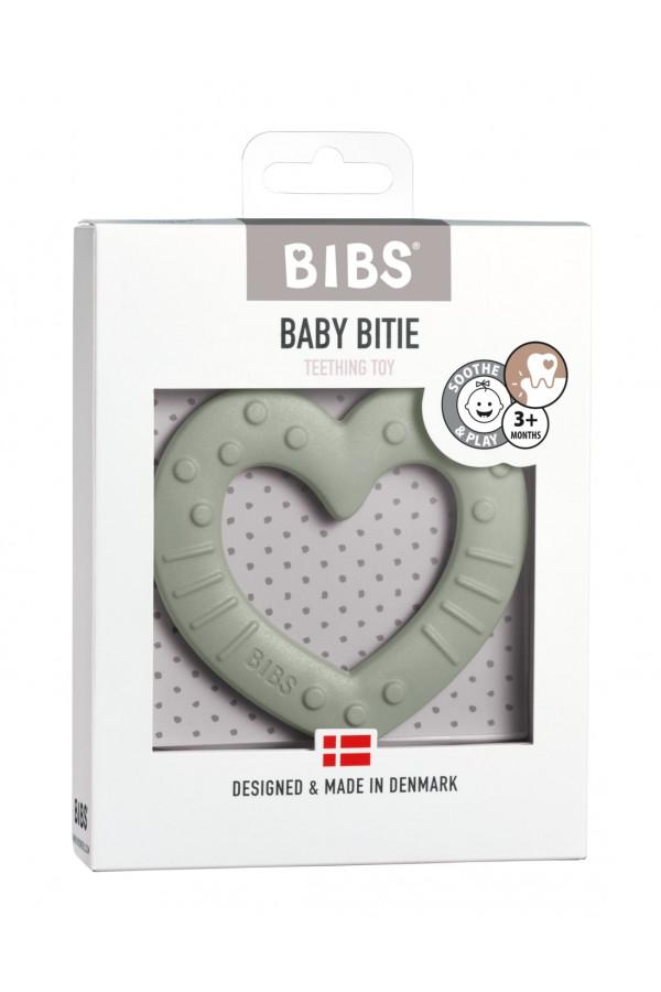 BABY BITIE HEART SAGE