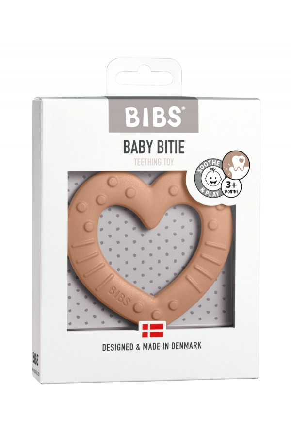 BABY BITIE HEART PEACH