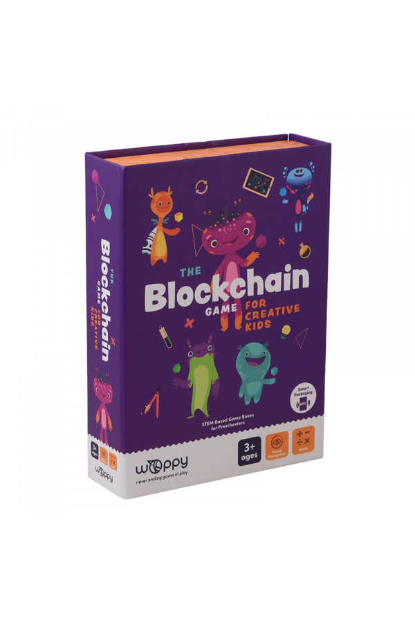 THE BLOCKCHAIN GAME FOR CREATIVE KIDS