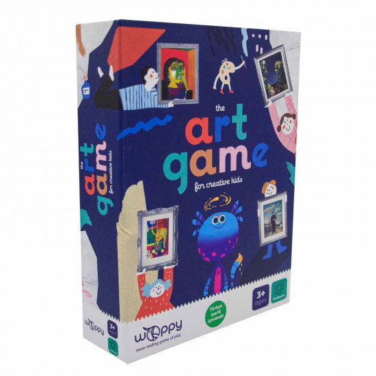 THE ART GAME FOR CREATIVE KIDS