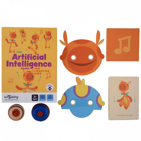 THE ARTIFICIAL INTELLIGENCE GAME FOR CREATIVE KIDS