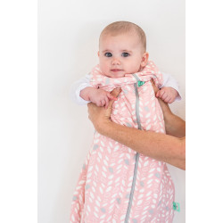 COCOON SWADDLE BAG (1.0 TOG)-SPRING LEAVES