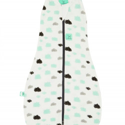 COCOON SWADDLE BAG (0.2 TOG)-CLOUDS