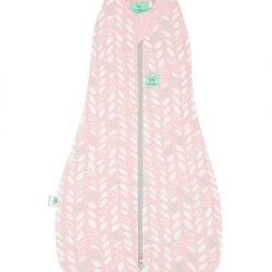 COCOON SWADDLE BAG (0.2 TOG)-SPRING LEAVES