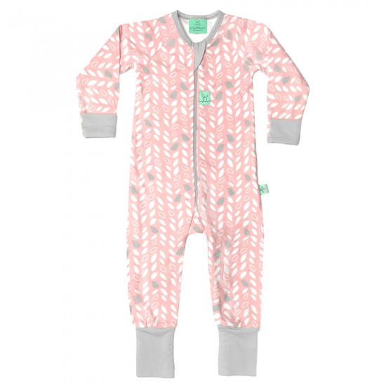 LAYERS LONG SLEEVE SLEEP WEAR (1.0 TOG)-SPRING LEAVES