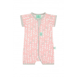 LAYERS SHORT SLEEVE SLEEP WEAR (0.2 TOG)-SPRING LEAVES