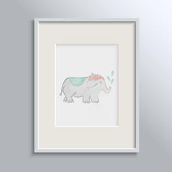 MISS ELEPHANT POSTER