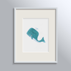 WHALES NO 1 POSTER