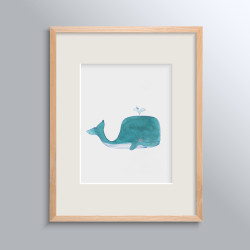 WHALES NO 3 POSTER