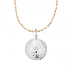 GINGKO PREGNANCY NECKLACE SILVER