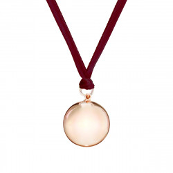 VELVET PREGNANCY NECKLACE ROSE GOLD