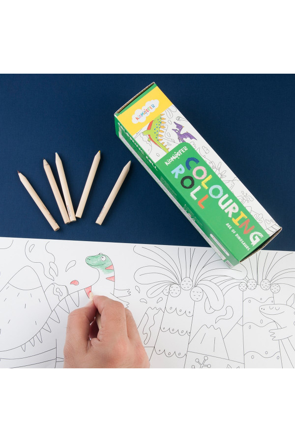 COLOURING ROLL AGE OF DINOSAURS