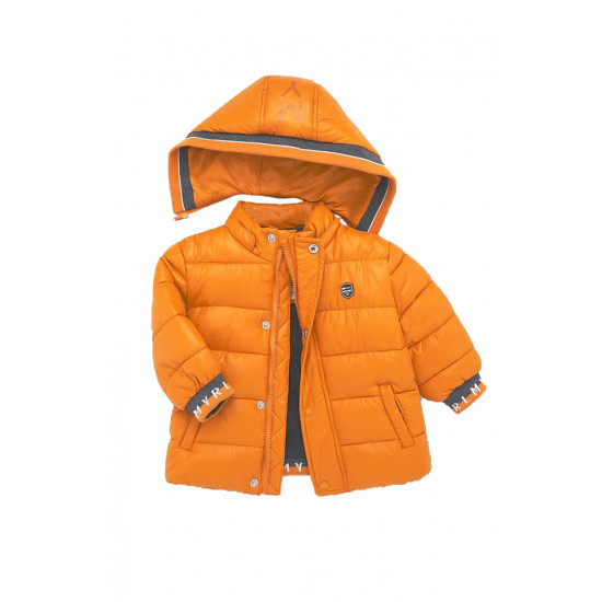 TWO-TONE COAT FOR BABY BOY