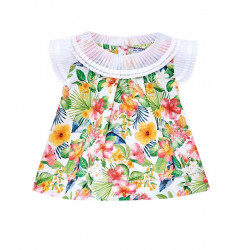 PLEATED BLOUSE FOR BABY GIRL