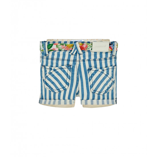 STRIPED SHORTS FOR BABY GIRL