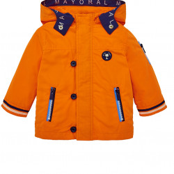 NAUTICAL WINDBREAKER JACKET FOR BABY BOY
