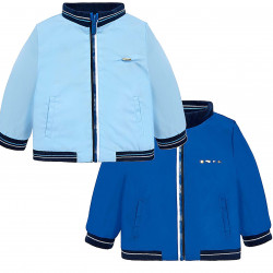 REVERSIBLE WINDBREAKER JACKET FOR BABY BOY
