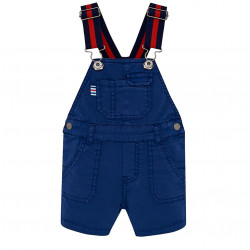 SHORT DUNGAREES WITH BRACES FOR BABY BOY
