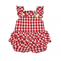 GINGHAM PLAYSUIT FOR BABY GIRL