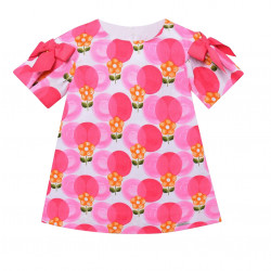 GEOMETRIC PATTERNED DRESS FOR BABY GIRL