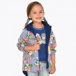 REVERSIBLE WINDBREAKER JACKET FOR GIRL