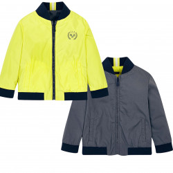 REVERSIBLE WINDBREAKER JACKET FOR BOY