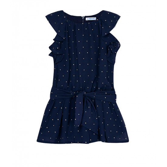 CHIFFON PLAYSUIT WITH STUDS FOR GIRL