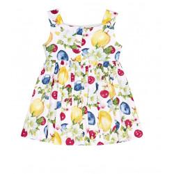 FRUIT PATTERNED DRESS FOR GIRL