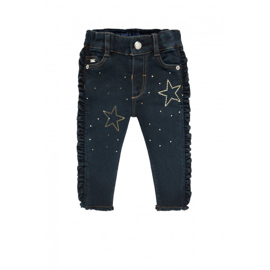 APPLIQUE JEANS FOR BABY GIRL