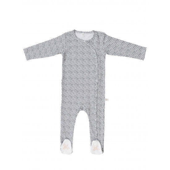 BABY BODYSUIT WITH DOTS