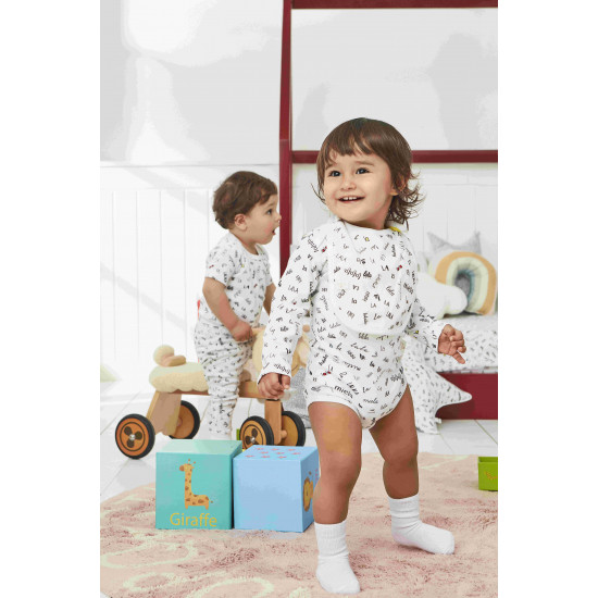 BABY BODYSUIT WITH LALALA