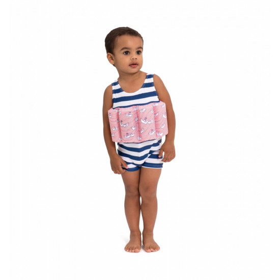 BOYS BLUE PAPER BOAT FLOATSUIT
