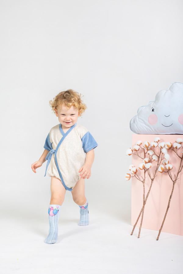 BABY BODY BLUE VELVET