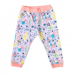 BABY PANTS WITH CACTUS PRINTED