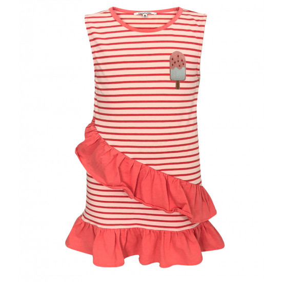 STRIPES DRESS FOR BABY GIRL