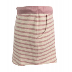 SKIRT WITH PINK STRIPE