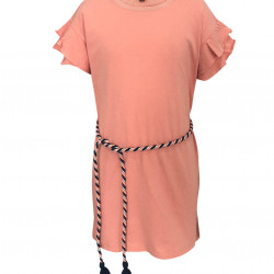 CORAL DRESS FOR GIRLS