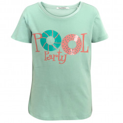 T-SHIRT FOR GIRLS WITH POOL PRINT