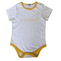 BABY BODYSUIT WITH THURSDAY PRINTED