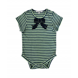STRIPES BODYSUIT FOR BABY BOY
