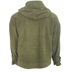 GREEN SWEATSHIRT FOR WOMEN