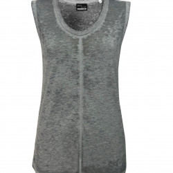 SLEEVELESS WOMEN T-SHIRT