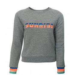 SWEATSHIRT WITH SUNRISE EMBROIDERED